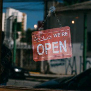 Small Business Door