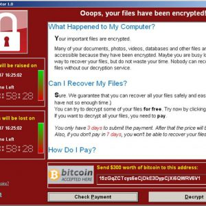 ransomware and the importance of offline backups