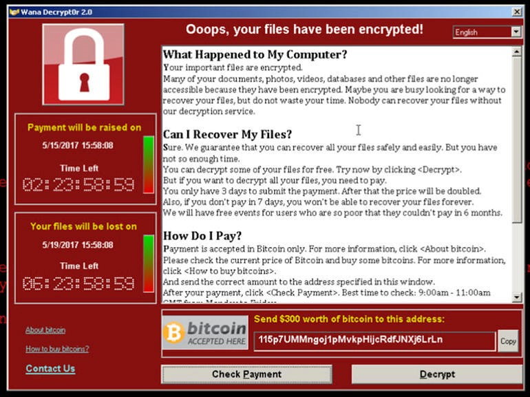 WannaCry ransomware crisis, one year on: Are we ready for the next ...